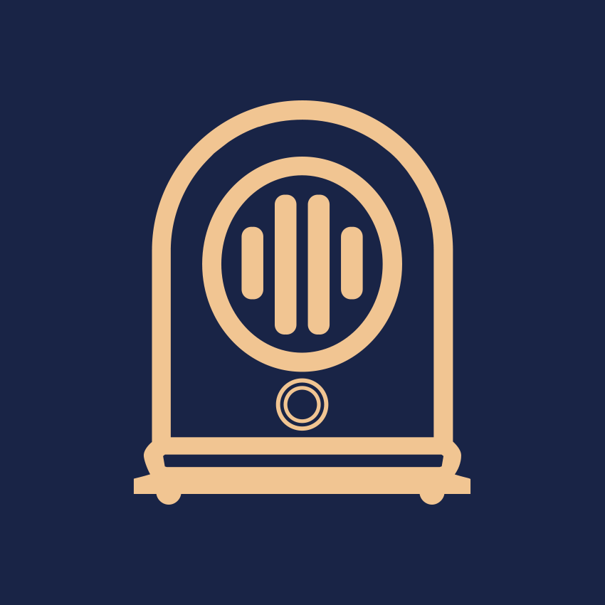 FC favicon, a stylized graphic of an old style radio.