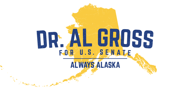Dr. Al Gross for Senate Logo