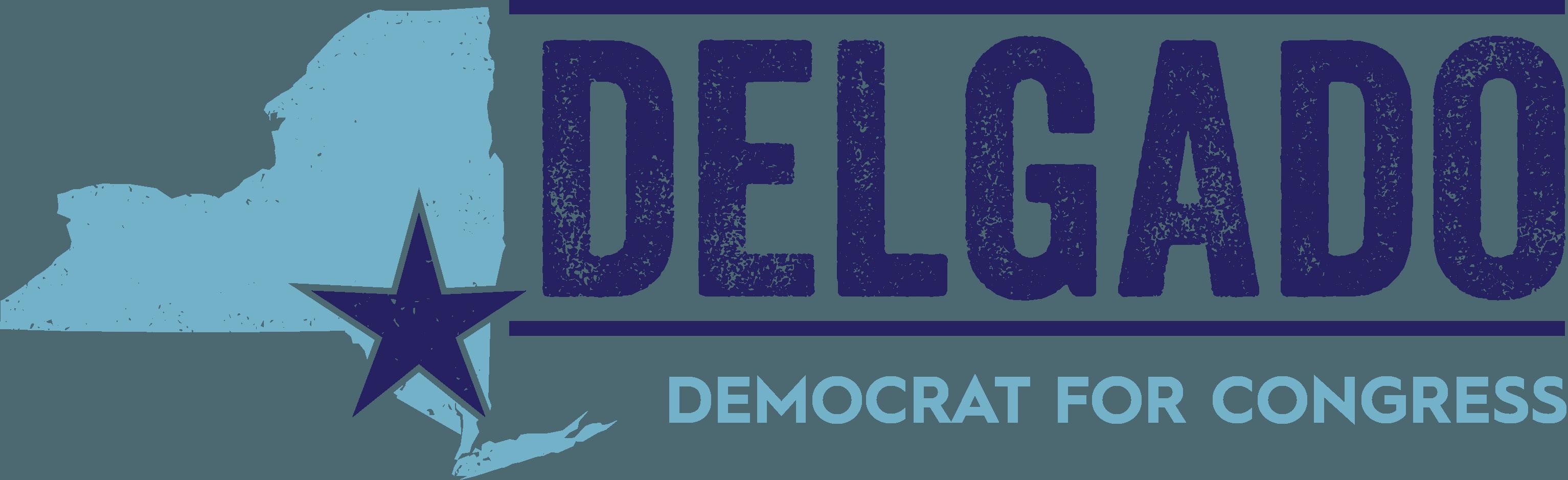 Delgado for Congress logo