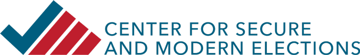 Center for Secure and Modern Elections logo
