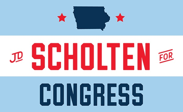 J.D. Scholten for Congress Logo