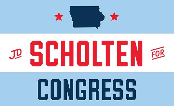 JD Scholten for Congress logo