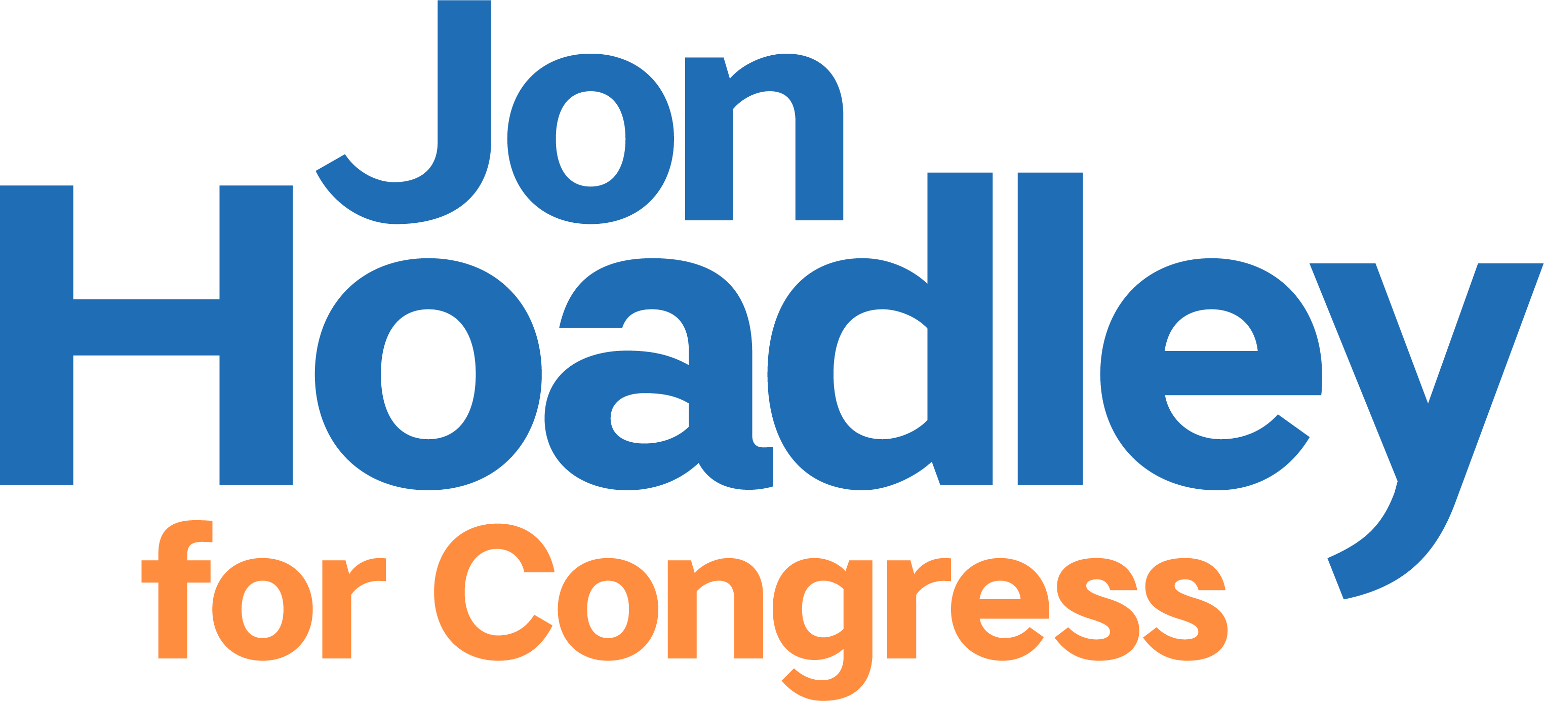 Jon Hoadley for Congress Logo