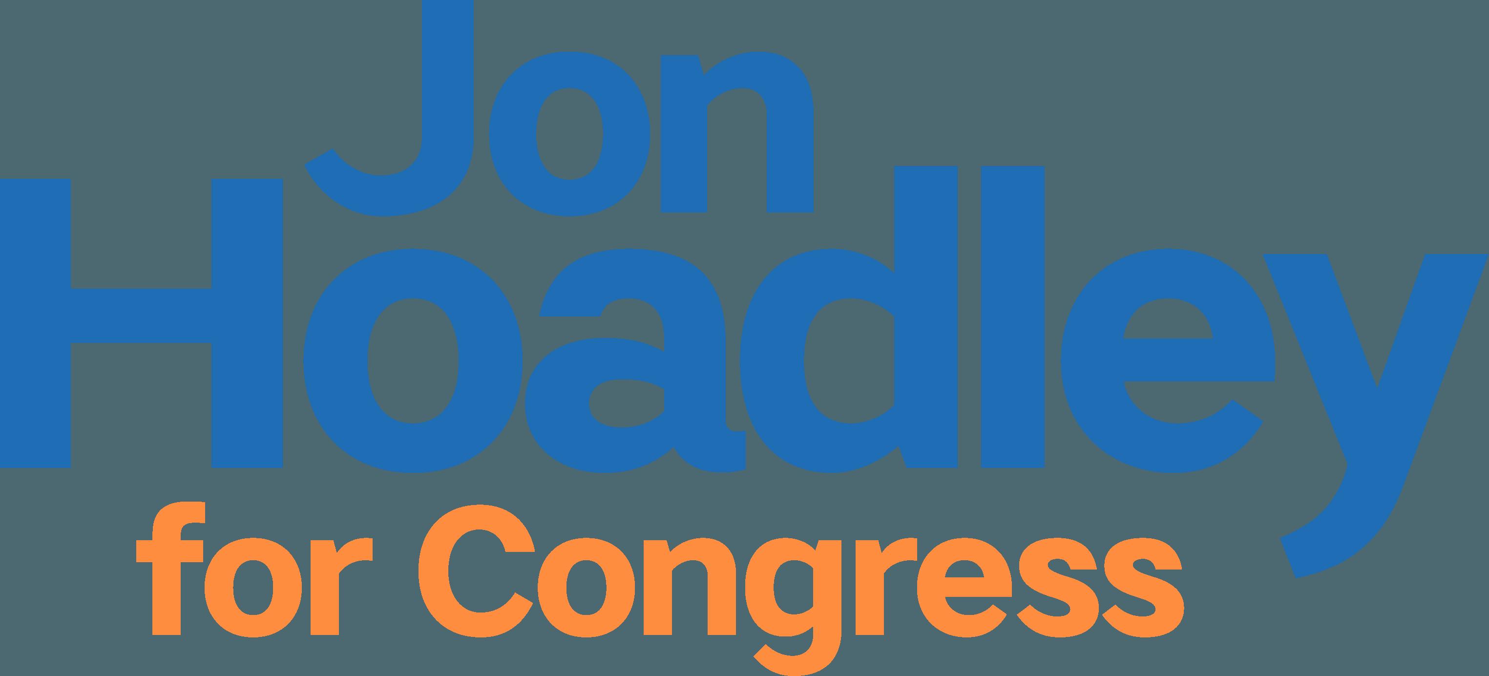 Jon Hoadley for Congress logo