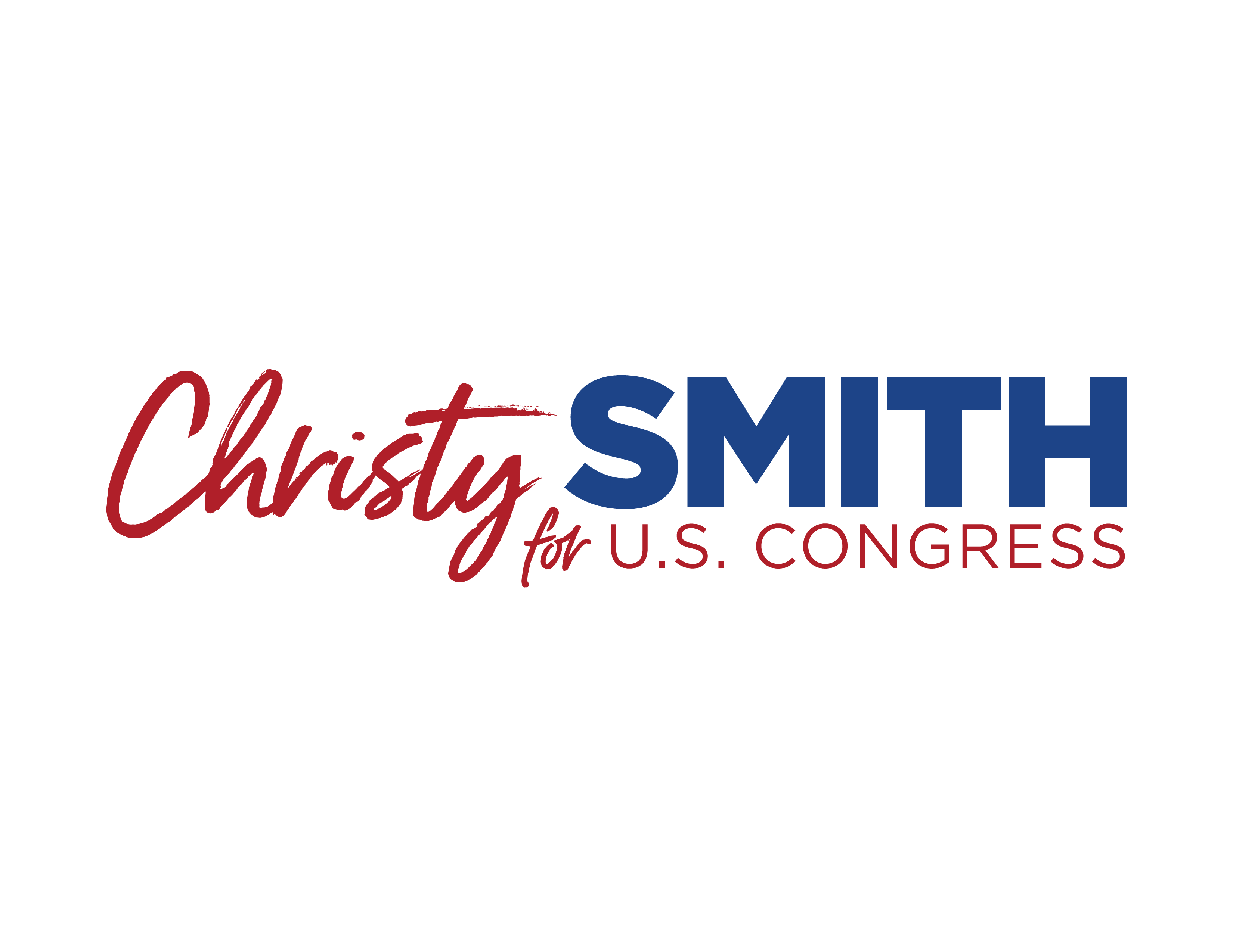 Christy Smith for Congress Logo