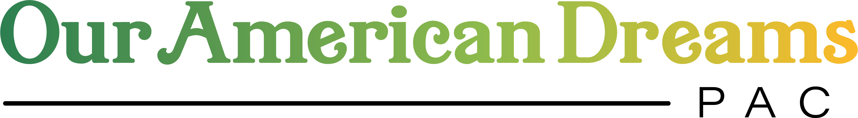 Our American Dreams PAC logo