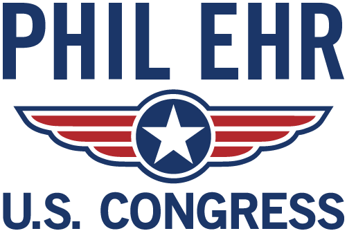Phil Ehr for Congress logo