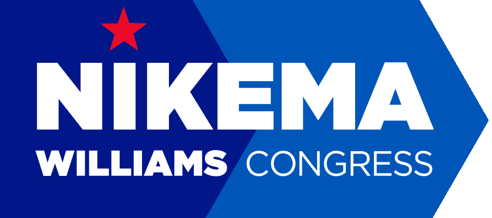 Nikema Williams for senate logo