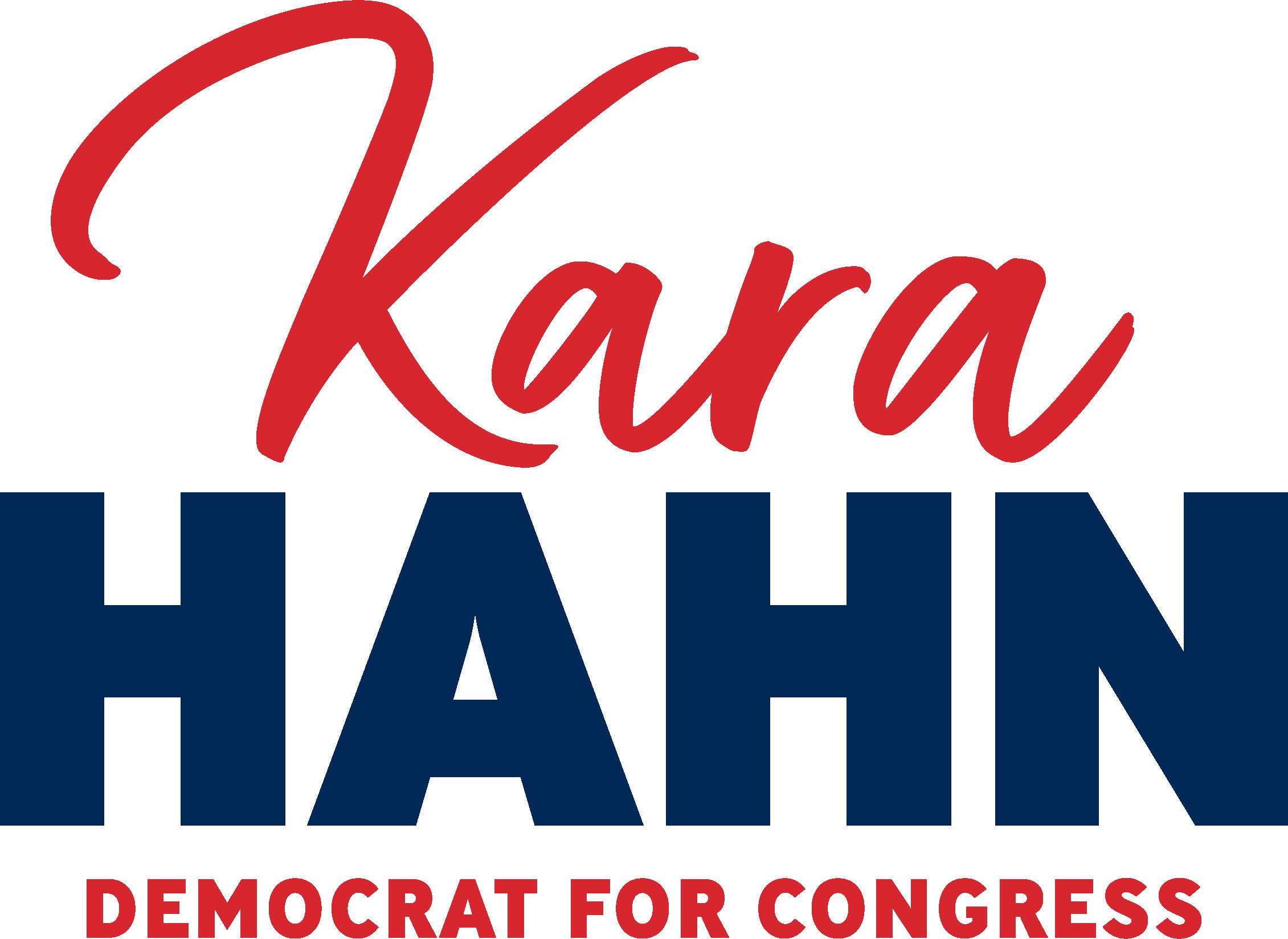Kara Hahn for Congress logo
