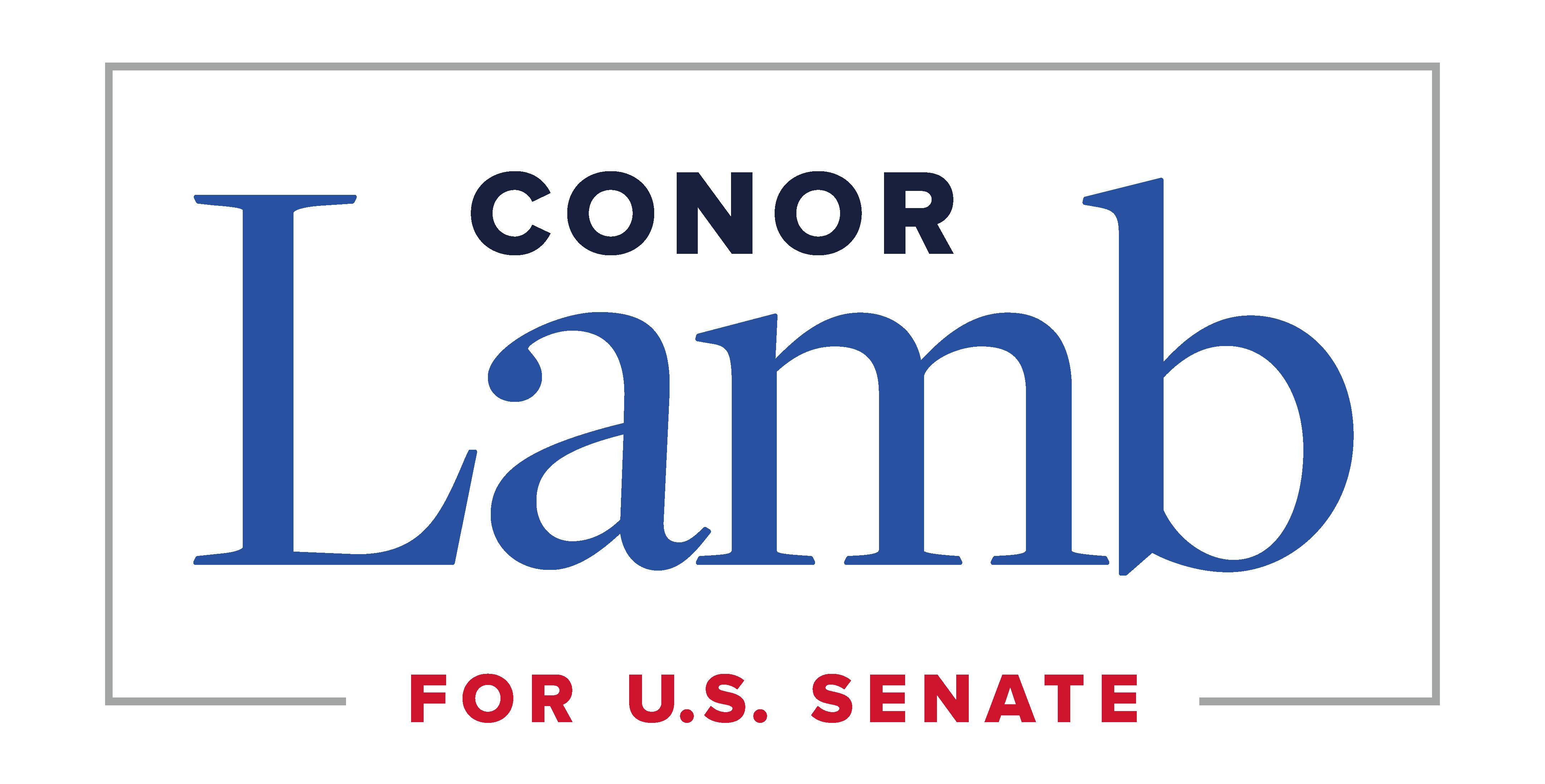 Conor Lamb for Senate logo