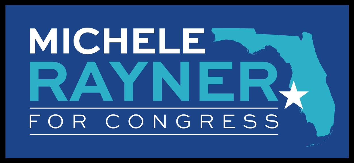 Michele Rayner for Florida logo