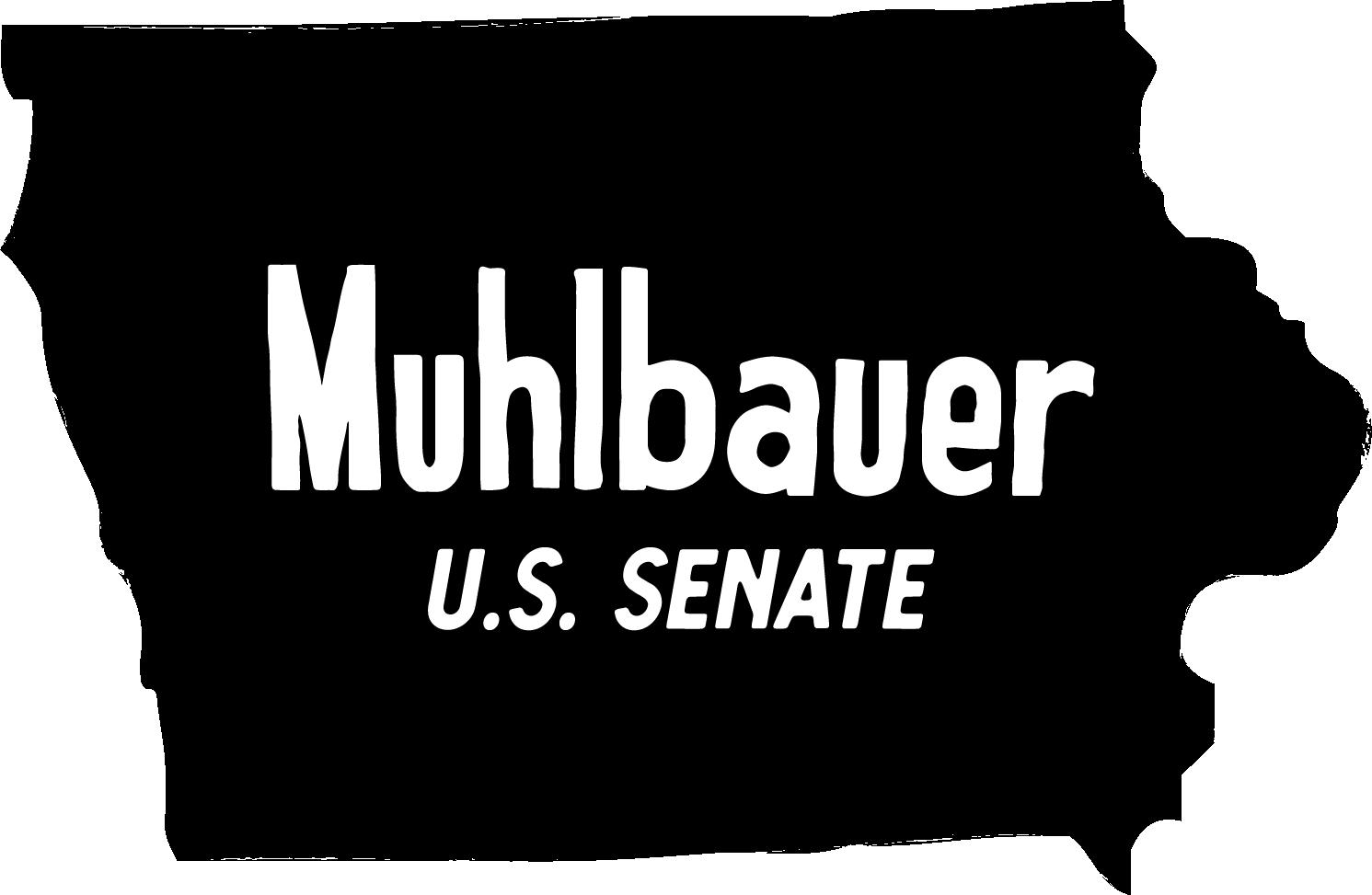 Muhlbauer for Senate logo